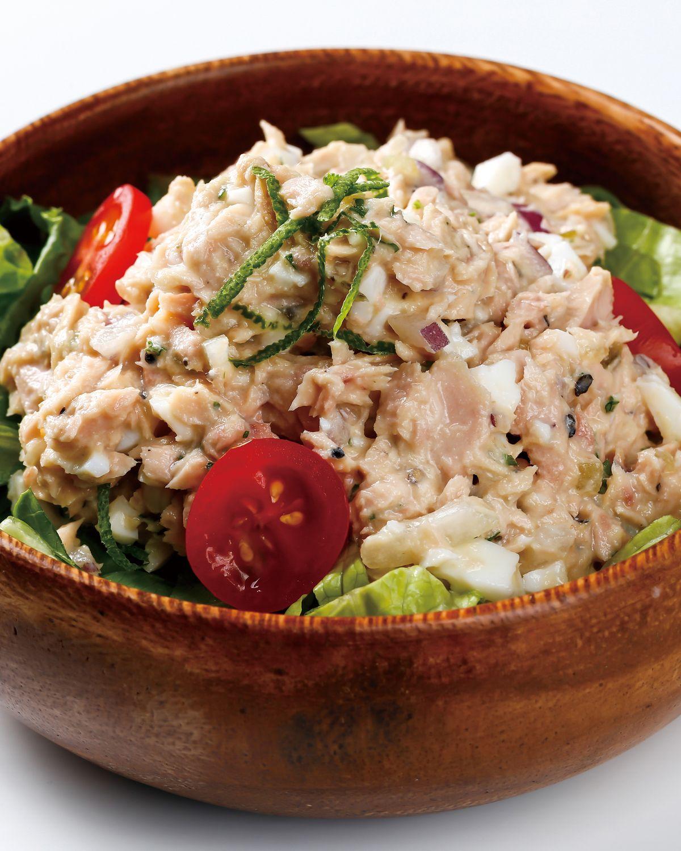 食譜:鮪魚優格蛋沙拉