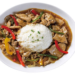 洋蔥豬肉燴飯(1)