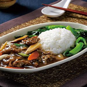 蠔油牛肉燴飯(2)