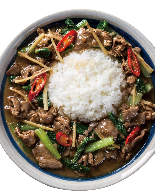 食譜:沙茶羊肉燴飯(1)