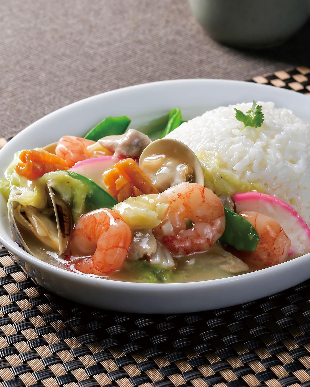 食譜:什錦海鮮燴飯
