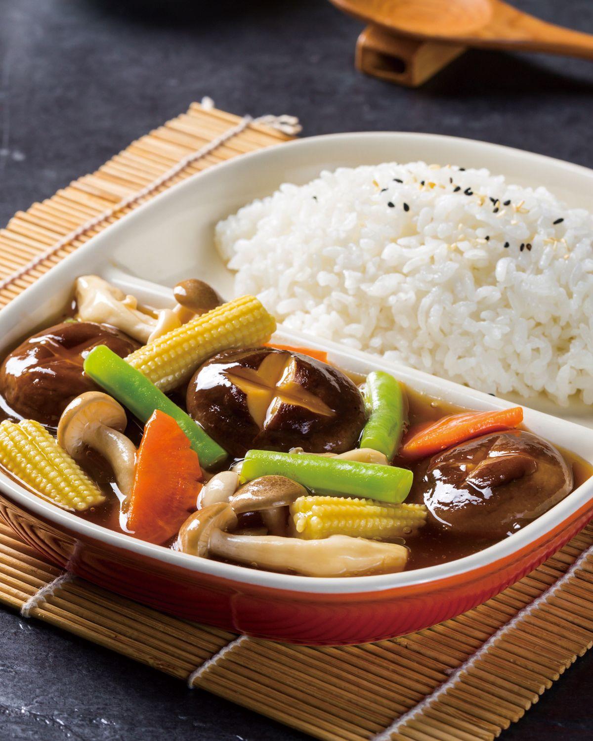 食譜:時蔬鮮菇燴飯