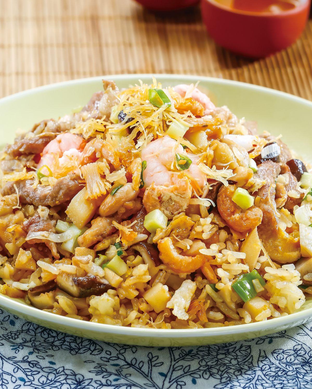 食譜:揚州炒飯(4)