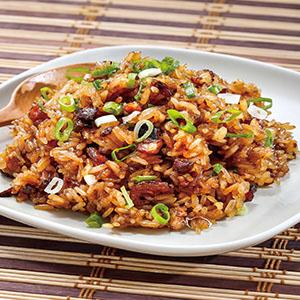 生炒糯米飯(2)