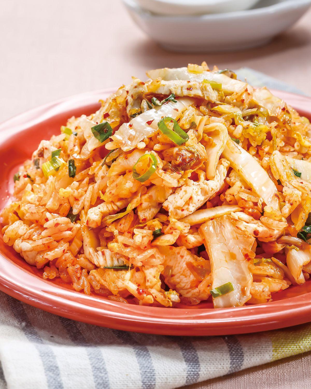 食譜:泡菜炒飯(5)