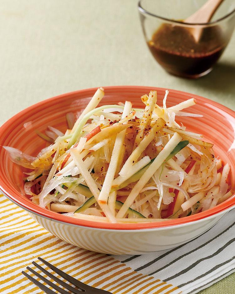 食譜:洋蔥蘋果沙拉