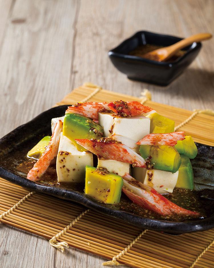 食譜:酪梨豆腐沙拉