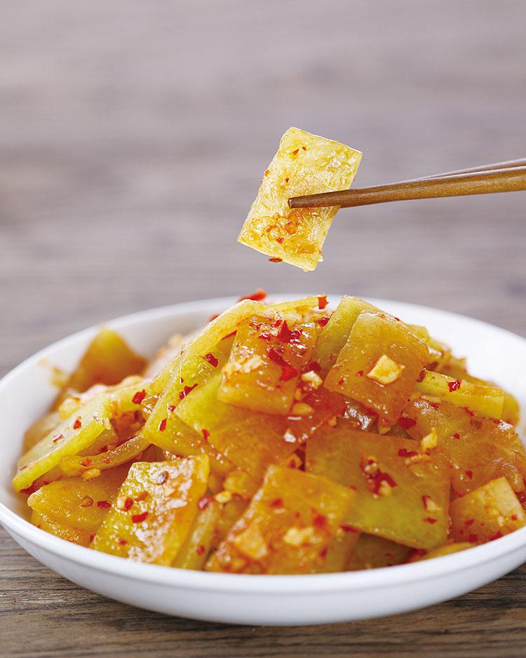 食譜:涼拌西瓜皮(3)