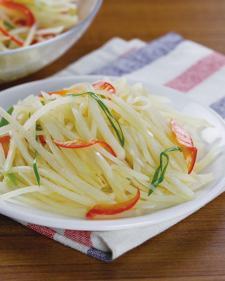 食譜:醋溜土豆絲