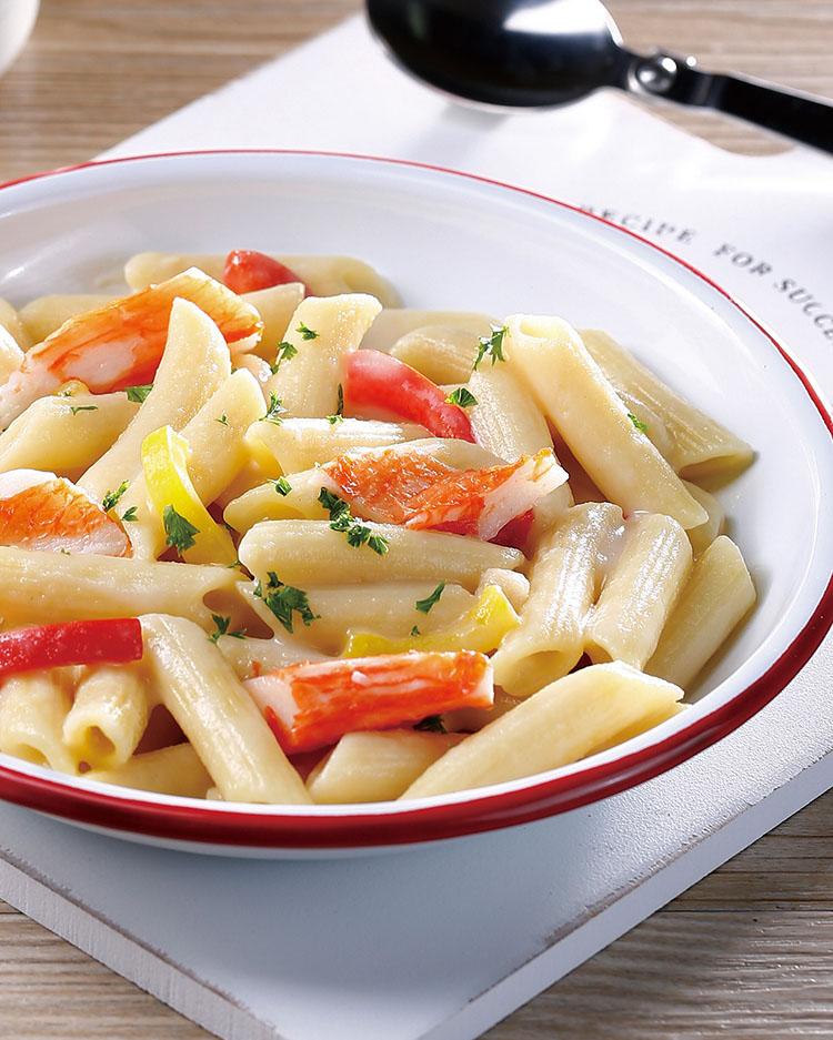 食譜:濃湯義大利麵