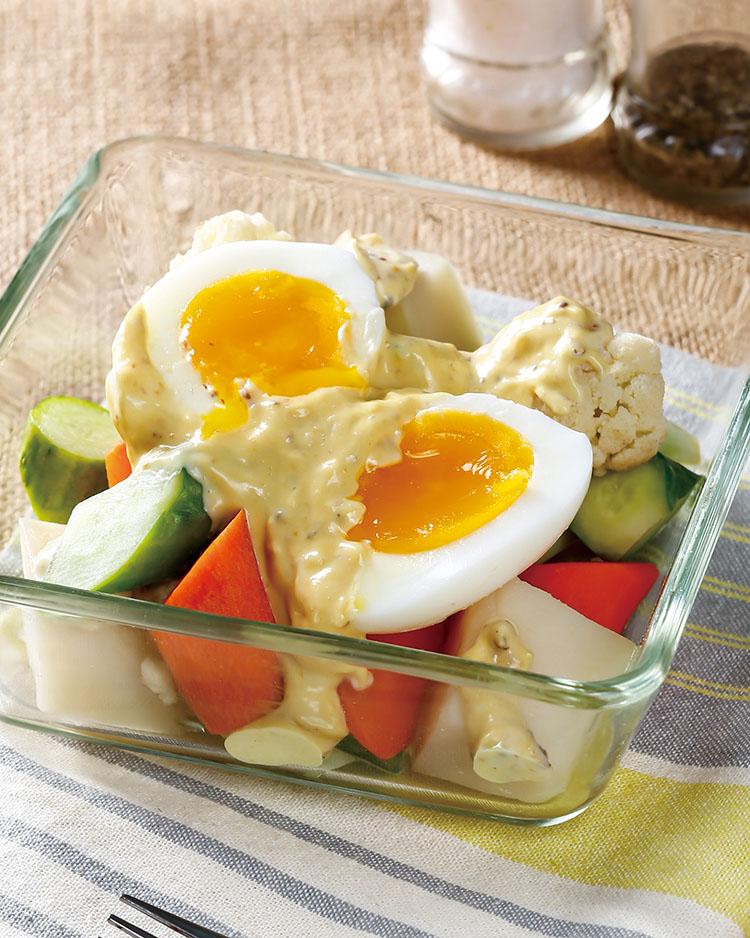 食譜:鮮蔬蛋沙拉