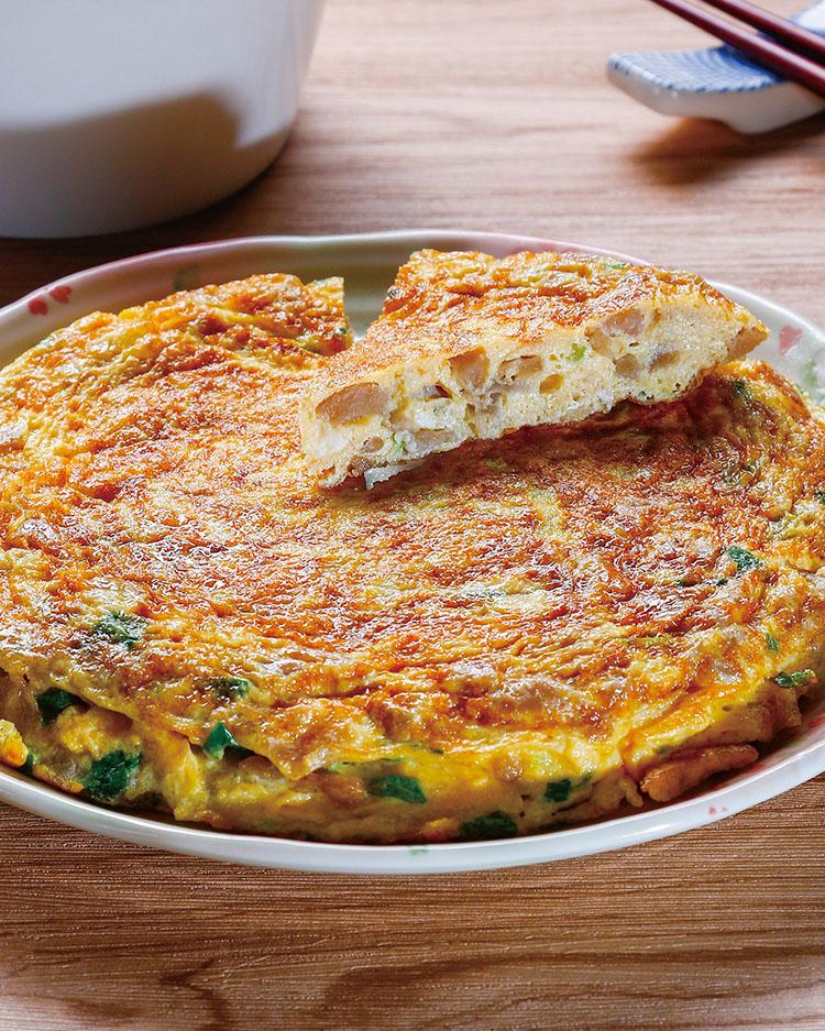 食譜:古早味菜脯蛋(1)