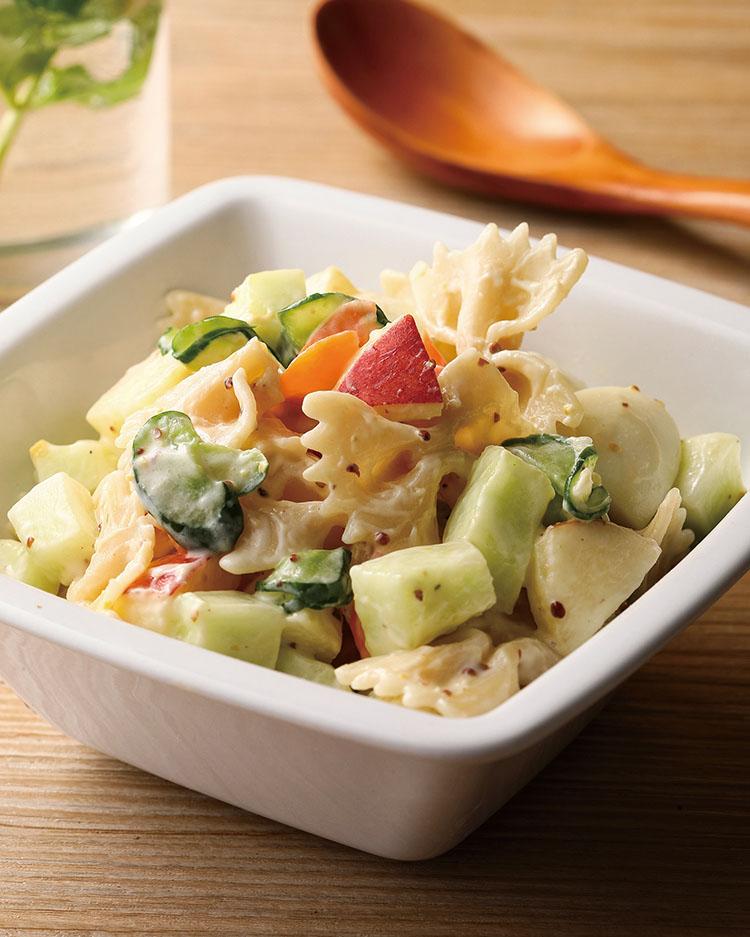 食譜:義大利麵沙拉