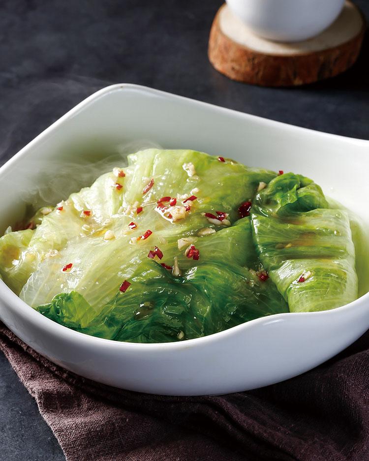 食譜:清蒸美生菜