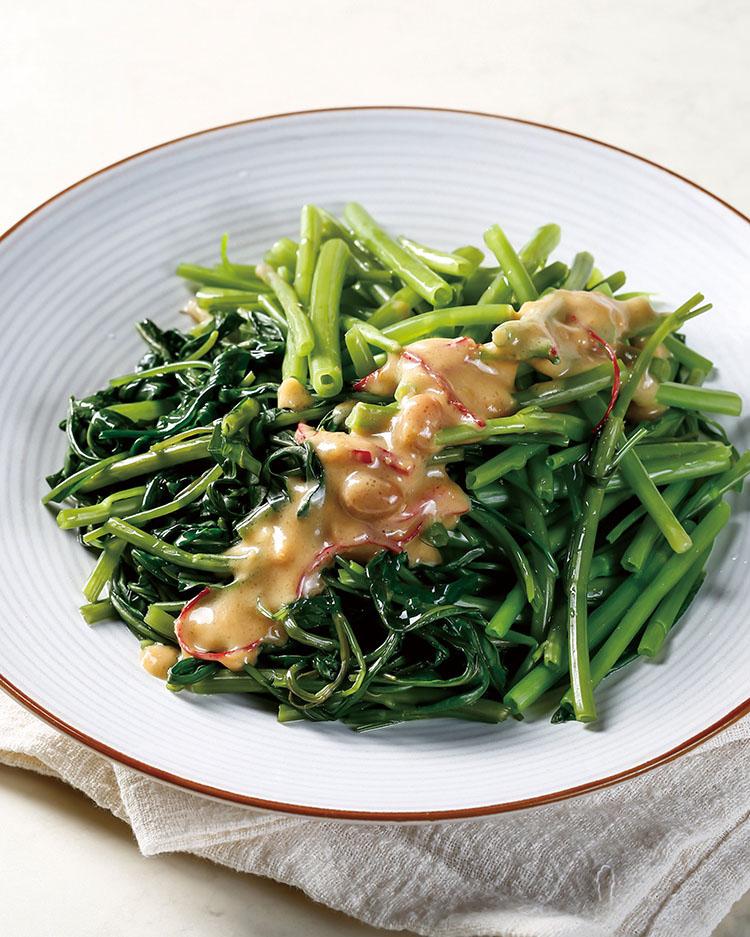 食譜:清蒸空心菜