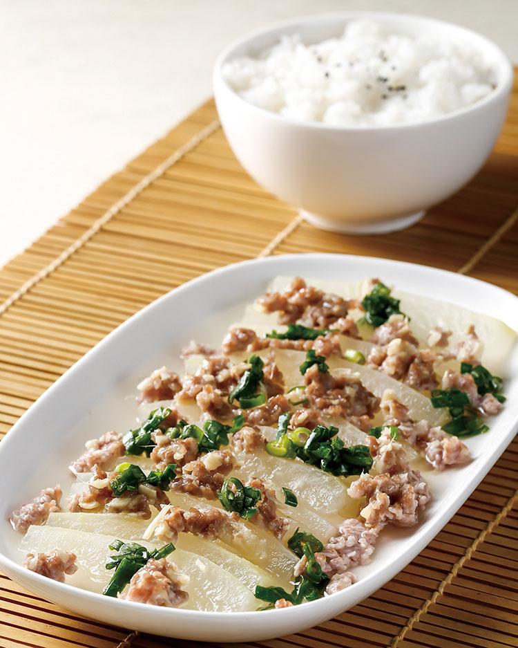 食譜:肉末蒸冬瓜(1)