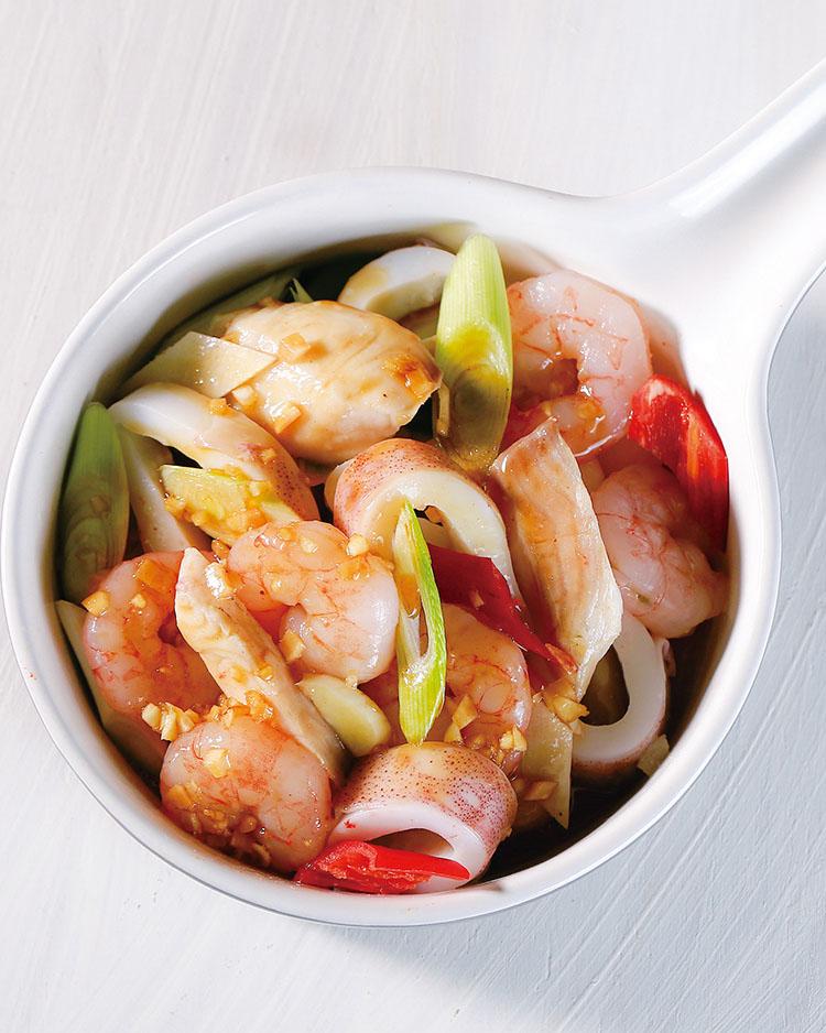 食譜:涼拌台式海鮮