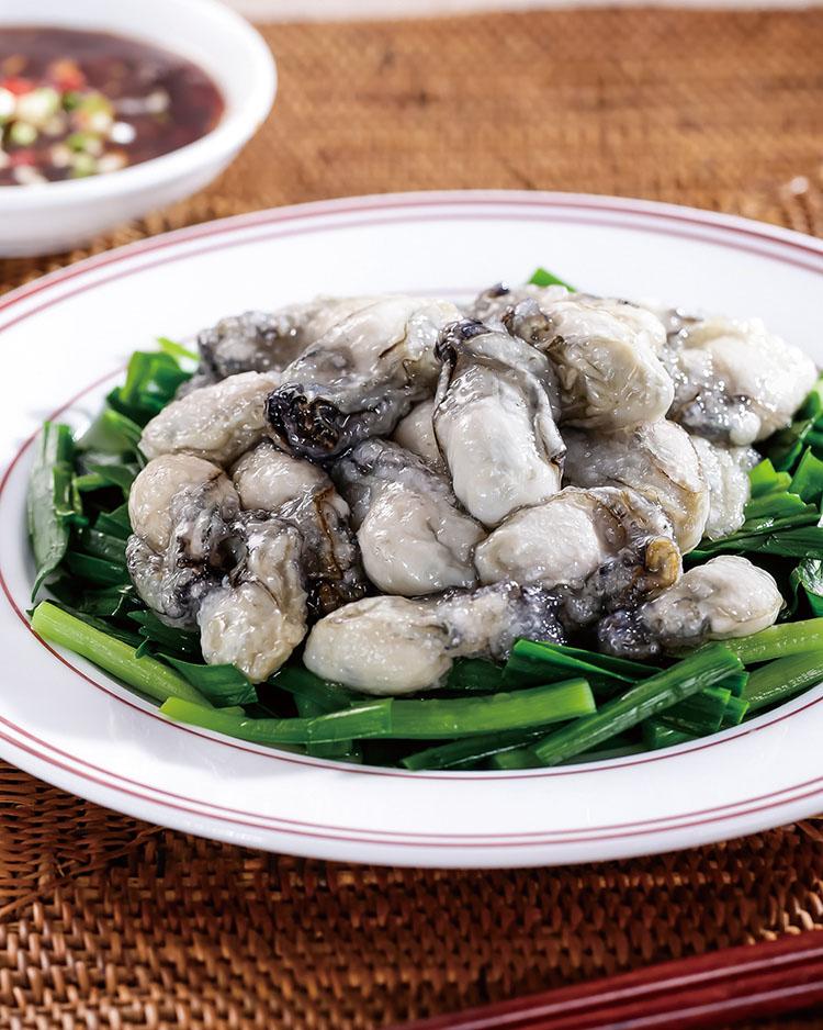 食譜:蒜泥韭菜鮮蚵