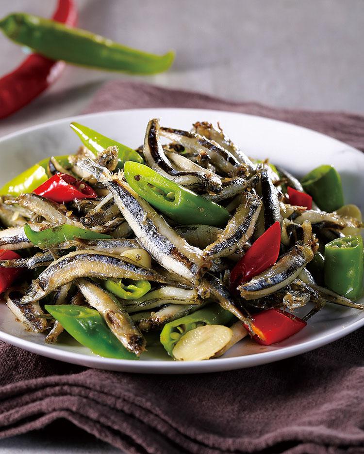 食譜:辣味丁香魚(1)