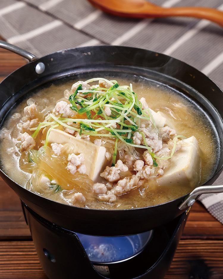 食譜:豆腐味噌春雨煮