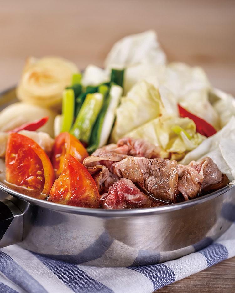 食譜:辣味壽喜鍋