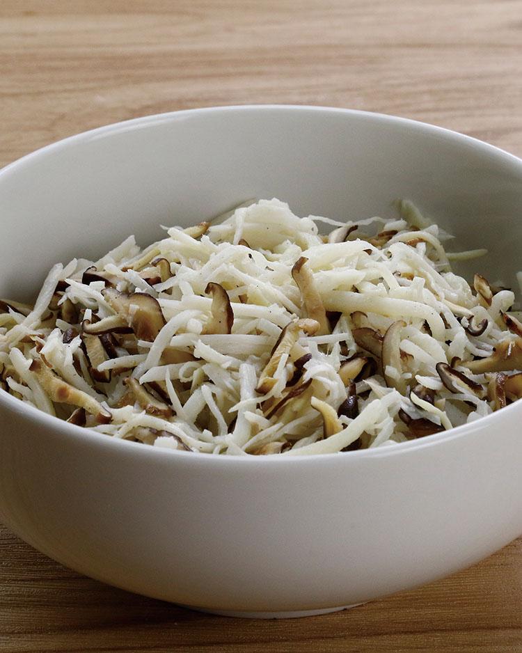 食譜:竹筍香菇餡
