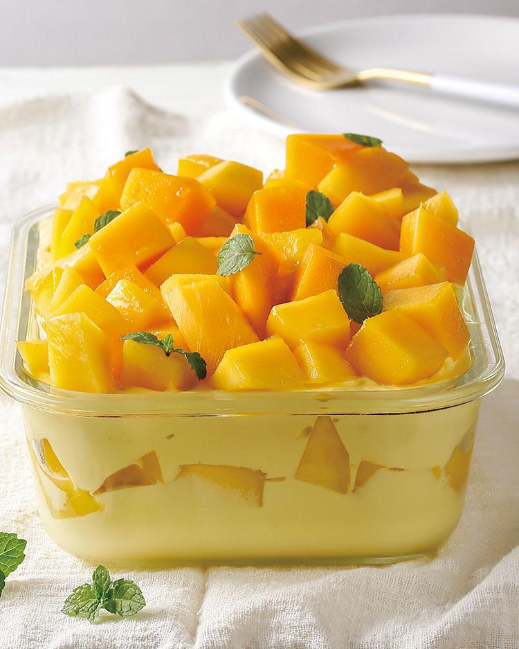 食譜:芒果生乳酪蛋糕
