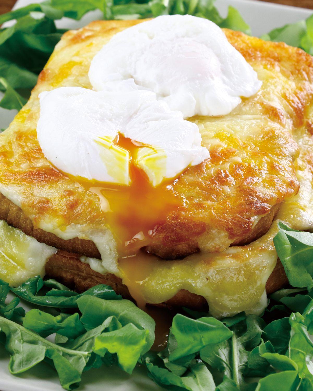 食譜:庫克太太三明治