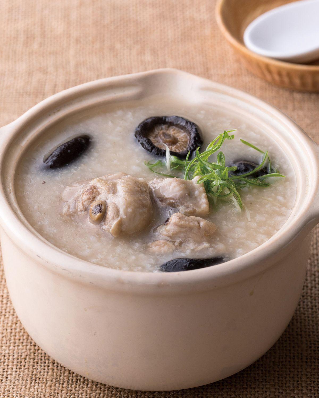 食譜:香菇雞肉粥