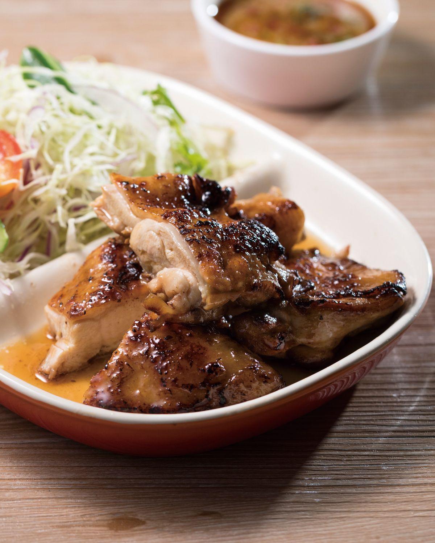 食譜:香煎雞排沙拉