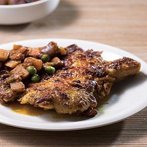 印度風味香料烤雞排