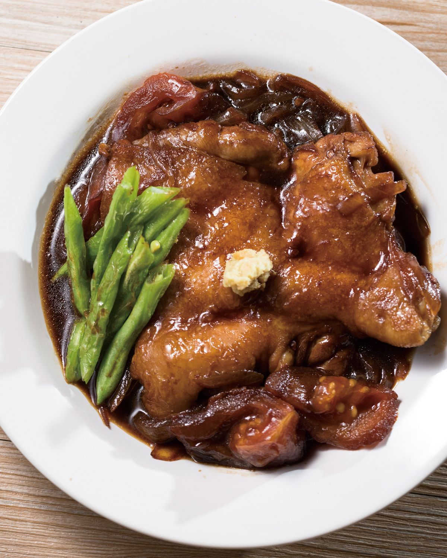 食譜:醬燒雞腿排