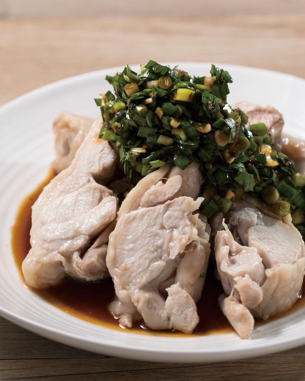 食譜:韭香雞