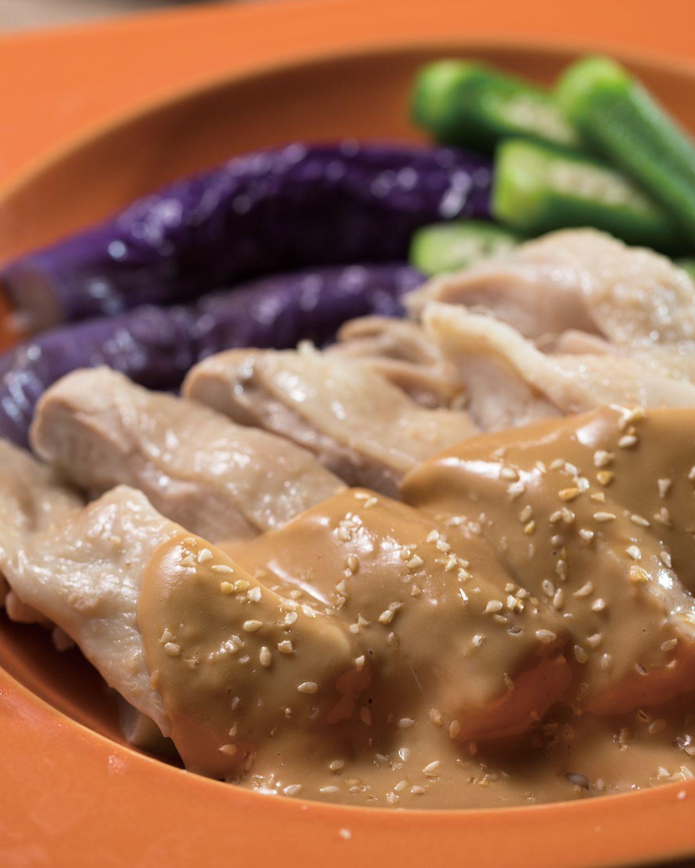 食譜:芝麻醬拌雞腿排