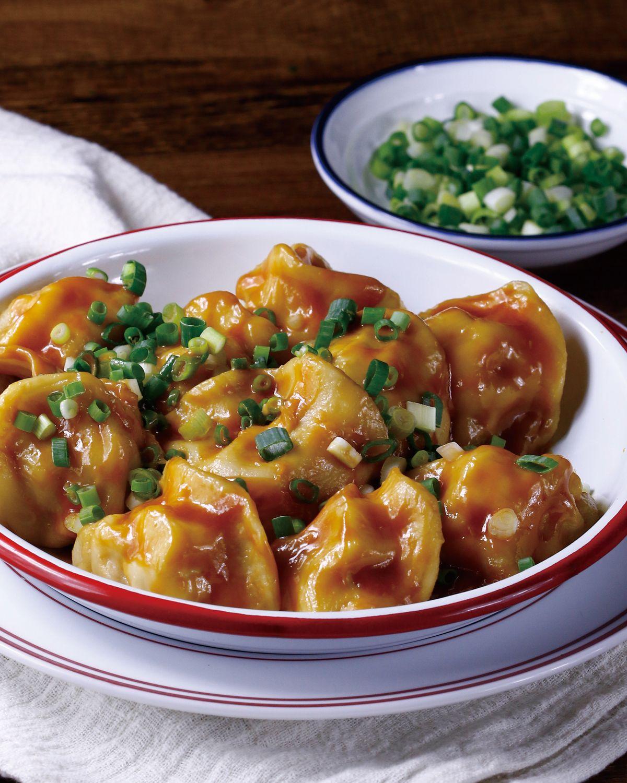 食譜:麻醬紅油餃子
