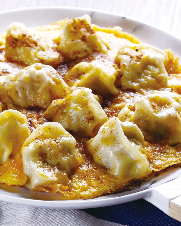 食譜:起司餃子烘蛋