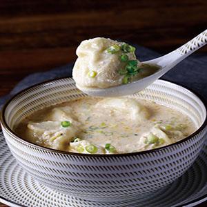 鹹豆漿餃子