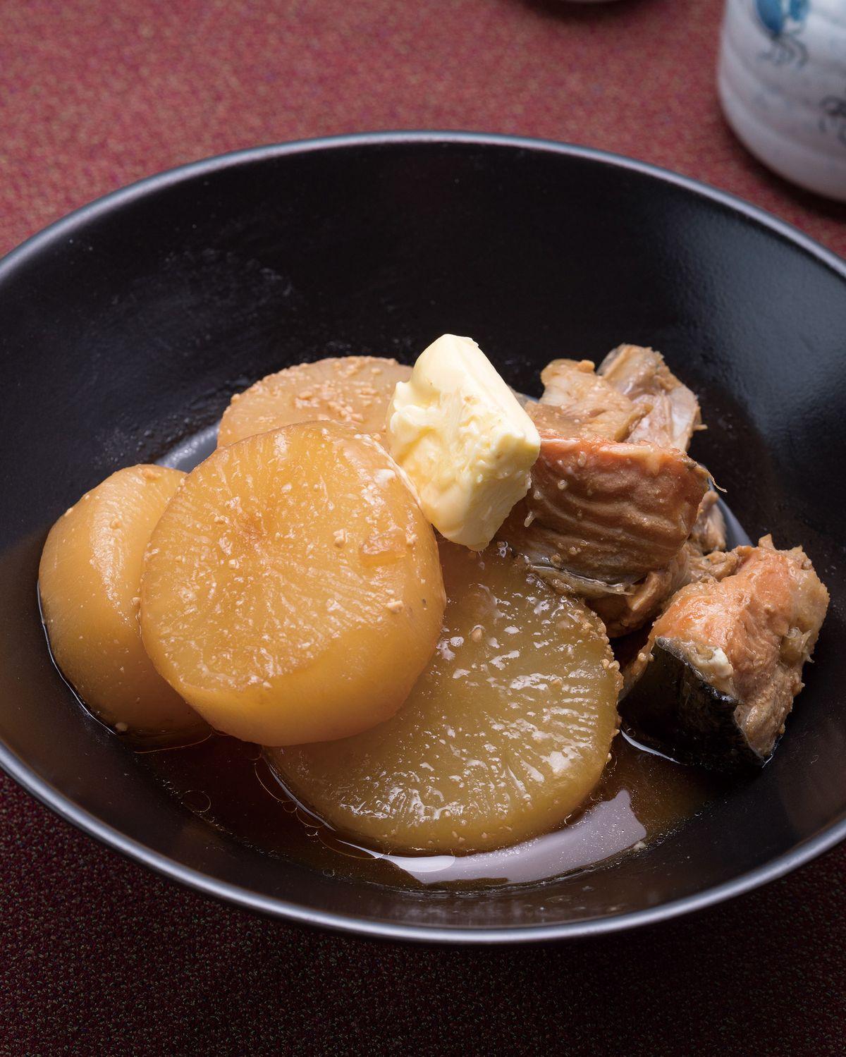 食譜:白蘿蔔味噌燉魚頭