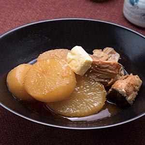白蘿蔔味噌燉魚頭