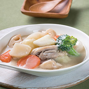 白醬煮根菜