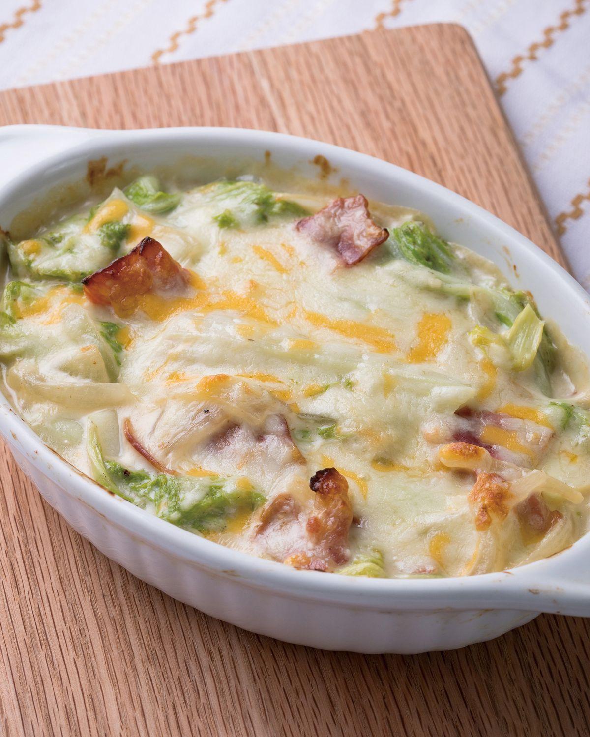 食譜:燉烤白菜