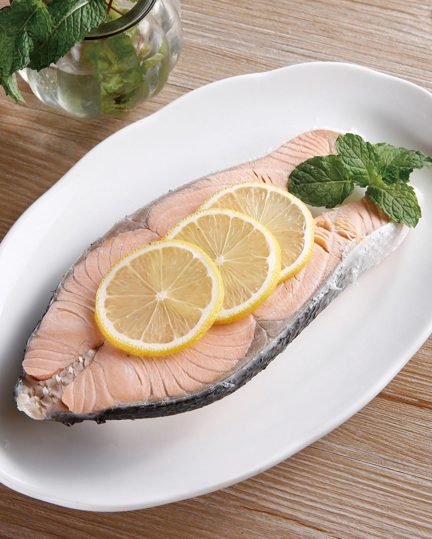 食譜:水煮鮭魚