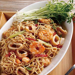 海鮮炒泡麵