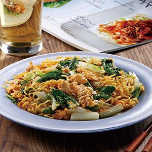 蔬菜炒泡麵