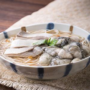 鮮蚵虱目魚米豆簽羹