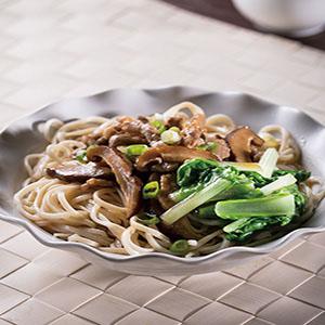 乾拌香菇肉絲米豆簽
