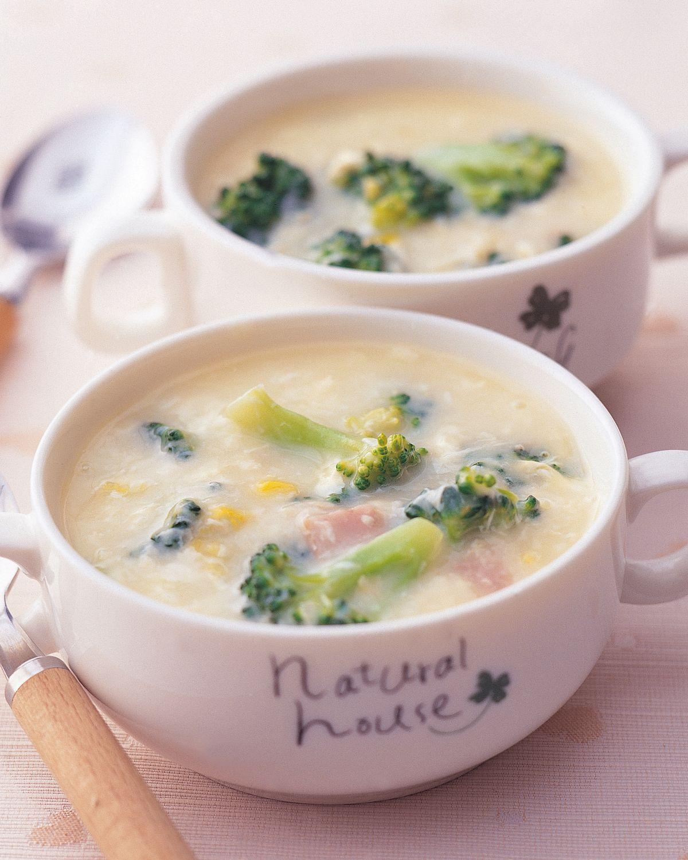 食譜:花椰奶油濃湯