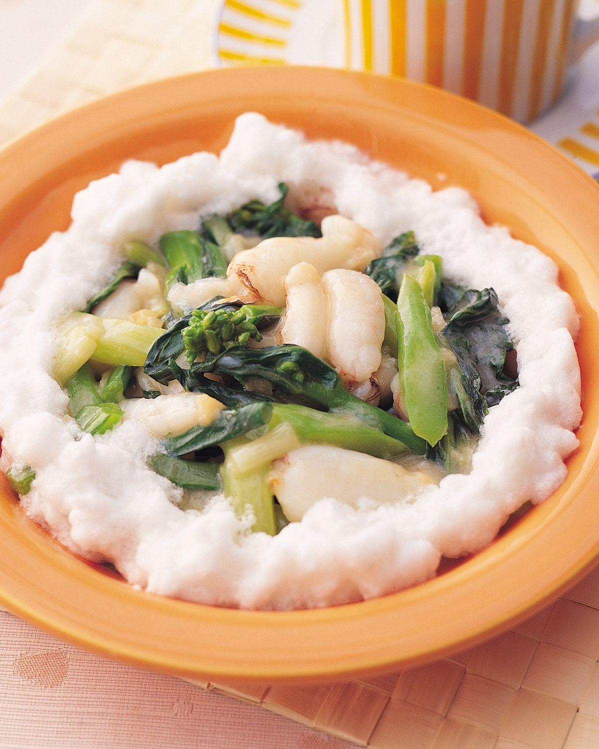 食譜:芙蓉蟹肉燴青蔬