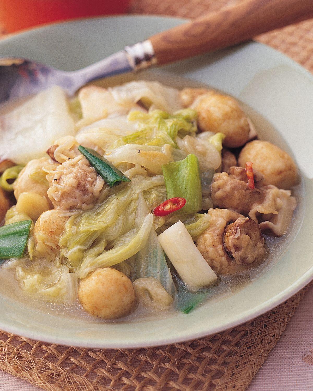 食譜:雙菇燴白菜