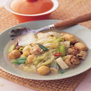 雙菇燴白菜